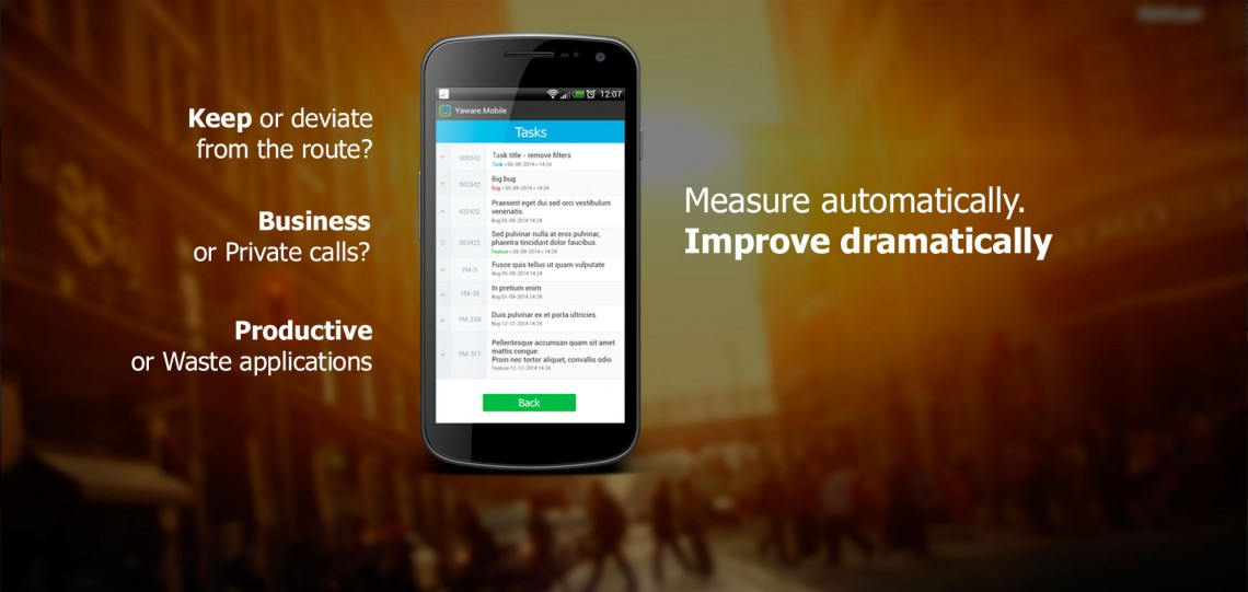 Measure automatically. Improve dramatically